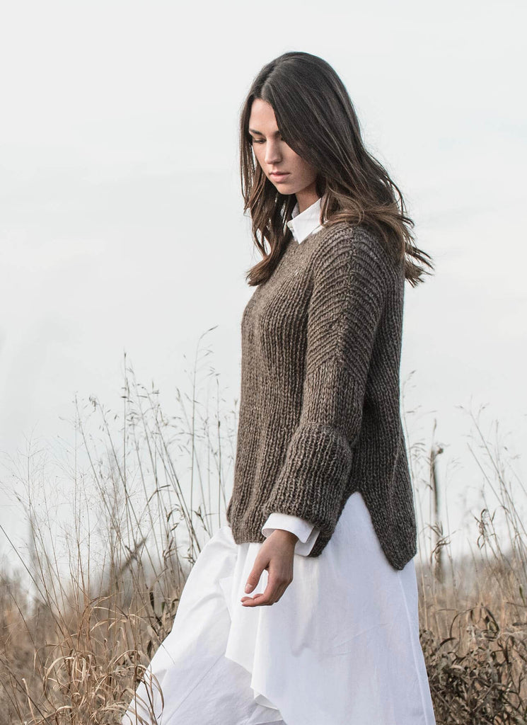 Preston Pullover Pattern - theobservatory.shop