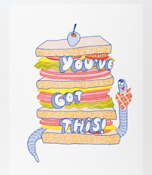 You've Got This Print - theobservatory.shop Yellow Owl Workshop - manos