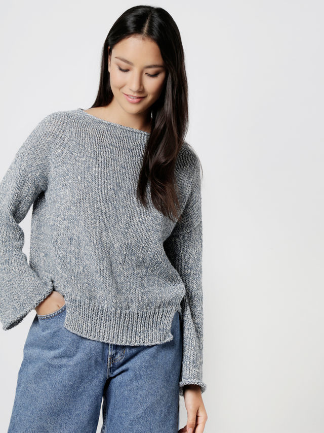 Crazy Feeling Sweater Pattern - theobservatory.shop Wool and the Gang - manos
