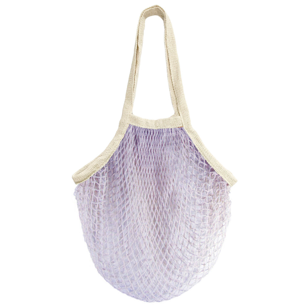 PILLOWPIA - the french market bag in lilac - theobservatory.shop PILLOWPIA - manos