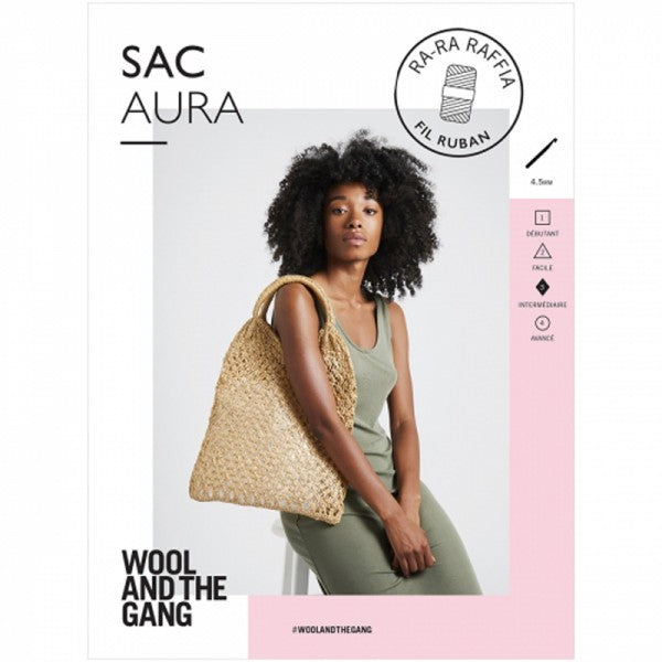 Aura Bag Crochet Pattern - theobservatory.shop Wool and the Gang - manos