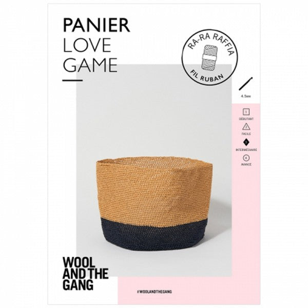 Love Game Basket Pattern - theobservatory.shop Wool and the Gang - manos