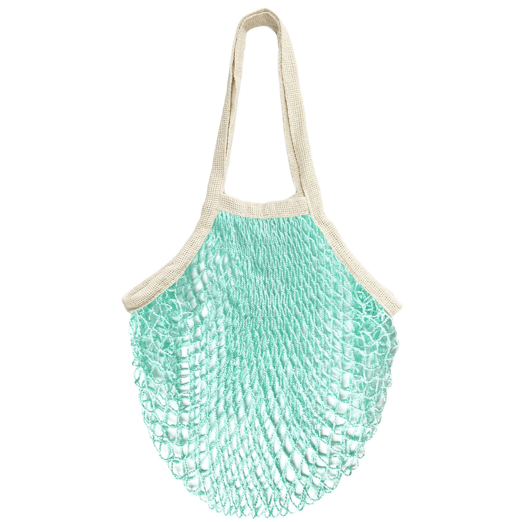 PILLOWPIA - the french market bag in mint - theobservatory.shop PILLOWPIA - manos