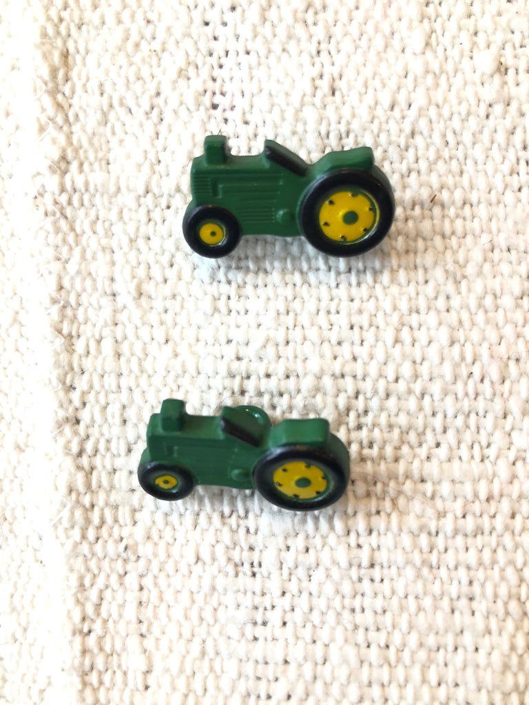 Tractor Button - theobservatory.shop Dill Buttons - manos