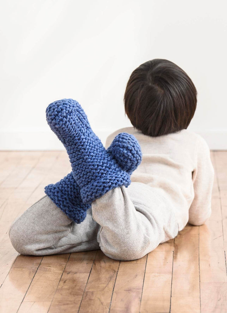 Sunday Morning Slipper Pattern - theobservatory.shop Spud & Chloe - manos