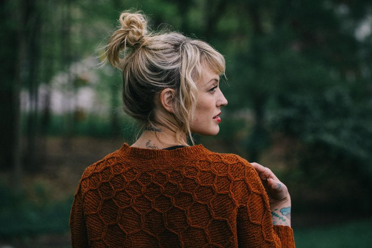 Wool and Honey Pattern by Drea Renee Knits - theobservatory.shop Drea Renee Knits - manos