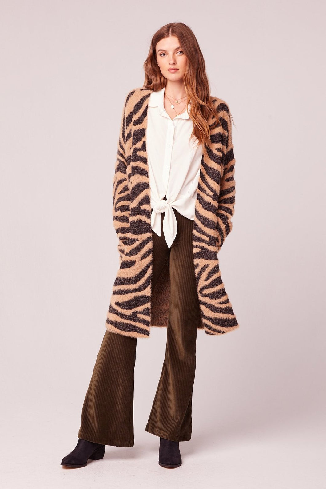 Band of Gypsies Animal Print Cardigan