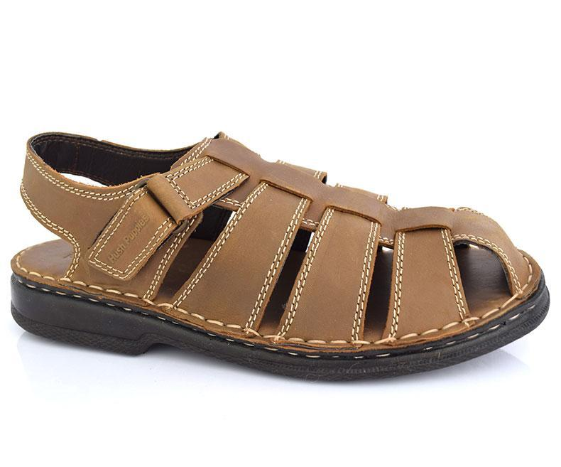 Larry 602 - Sandals for Men\Casual-Mild Wood data-zoom=