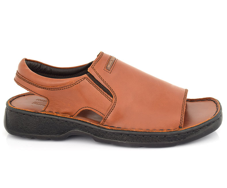 Gambler- Sandals for Men-Brown
