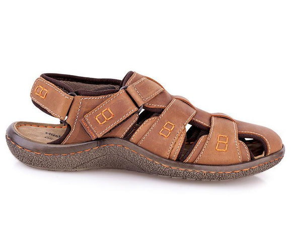 Randen - Sandals for Men\Casual-Rust