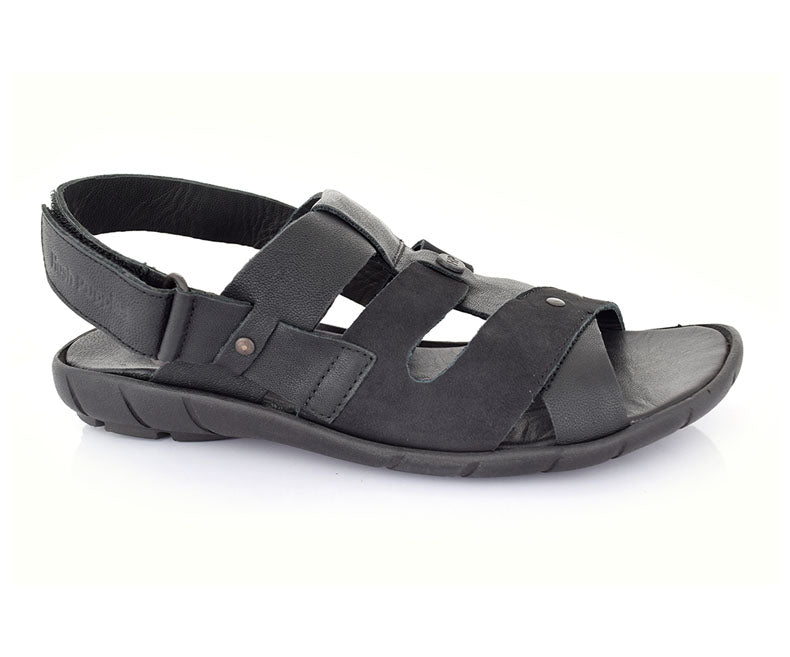 Motivate-Sandals for Men\Casual\Summer Wear-Black