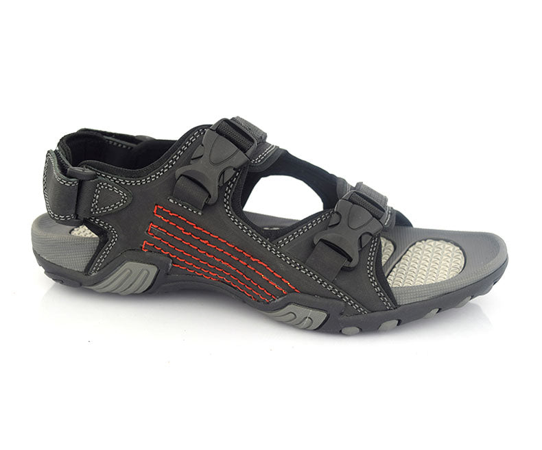 ALDRIC SPORTY - Black Men summer collection of sandals by Hush Puppies