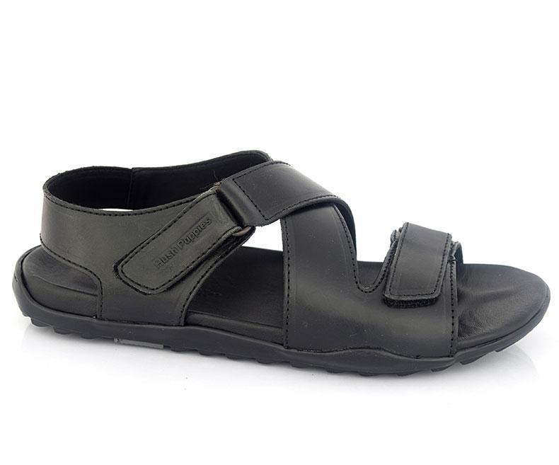 VELCRO WINSTEN-Sandals for Men, black