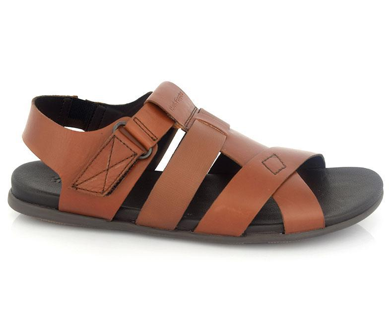 Sandals for Men\Semi formal-Tan Brown