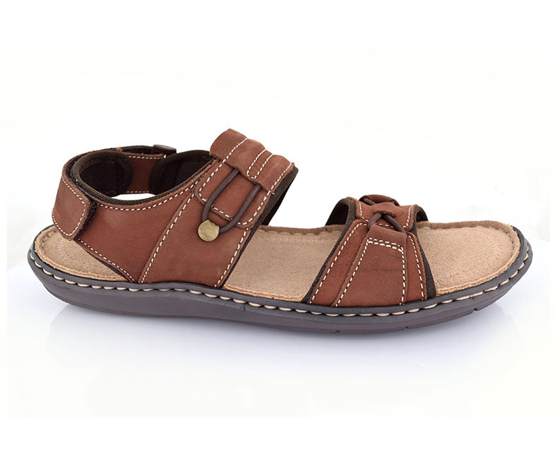 Men's Sandals-Brown