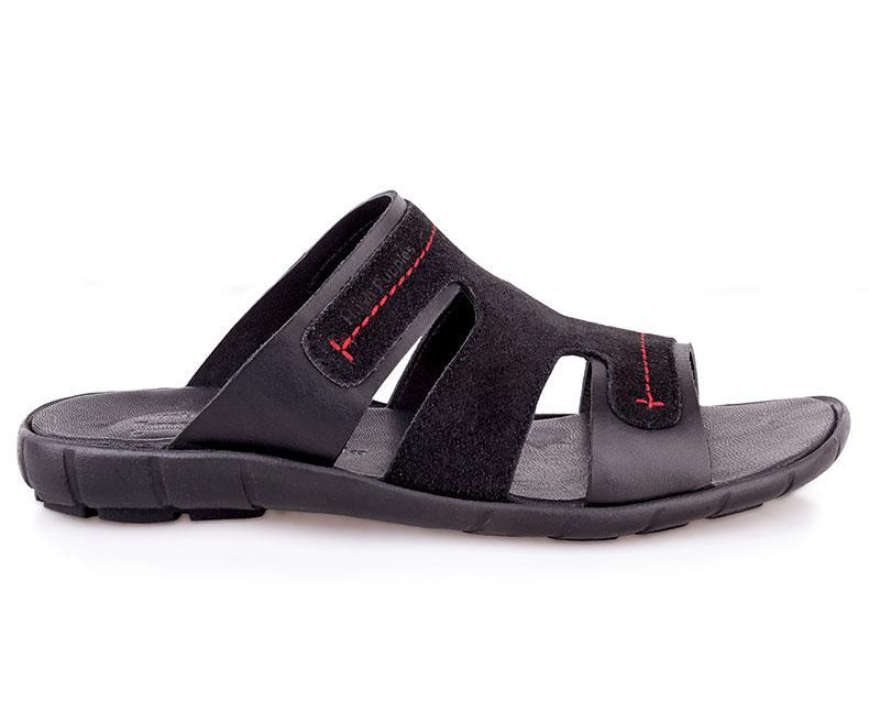 Perri Reef-Slippers for Men\Summer Wear-Black data-zoom=