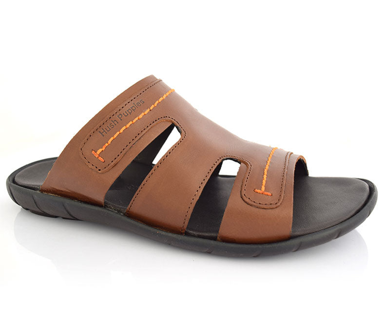 Perri Reef-Slippers for Men\Summer Wear-Mid Brown