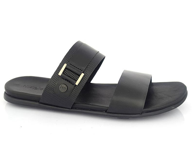 Black | HOGAN Wilton | Slippers for men