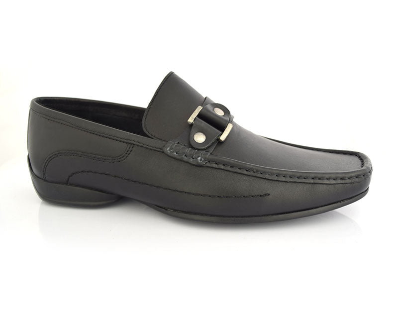 Velocity-Semi Formal Footwear for Men, anln black