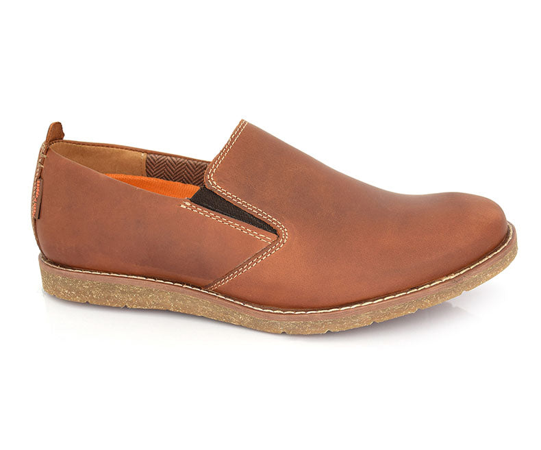 Chloe Jester- Tan Men's Casual Shoes by Hush Puppies