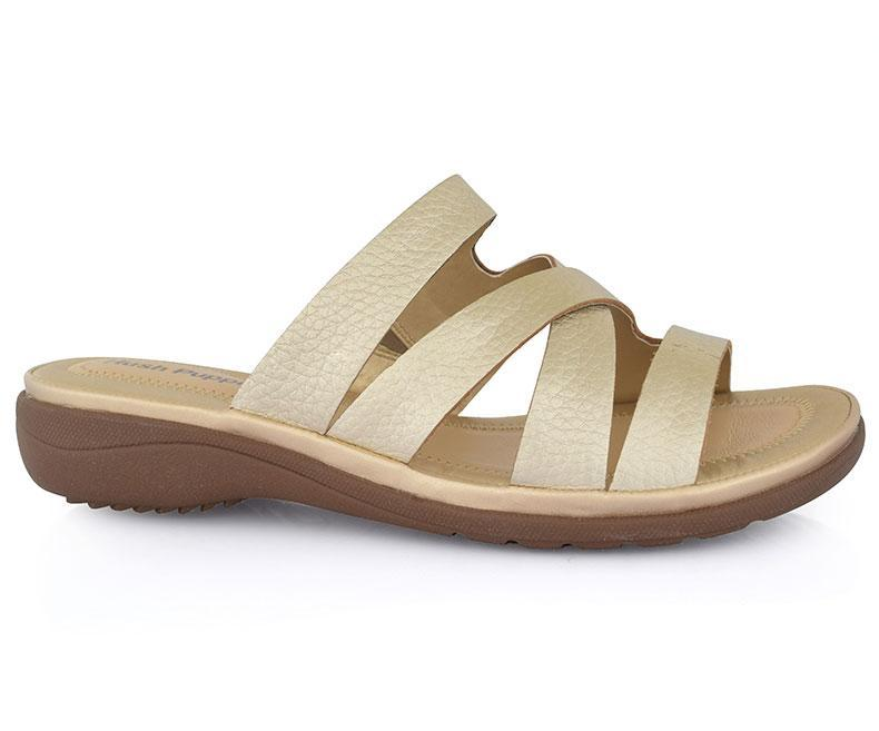 Kielo Keaton-Slippers for Women-Golden