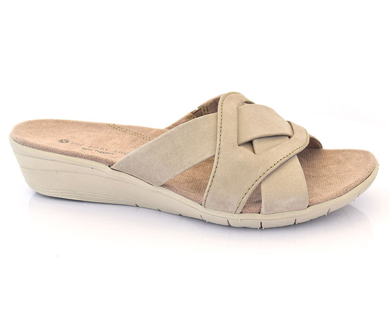 Nevan Irvine-Casual Footwear for Women\Slippers-Taupe