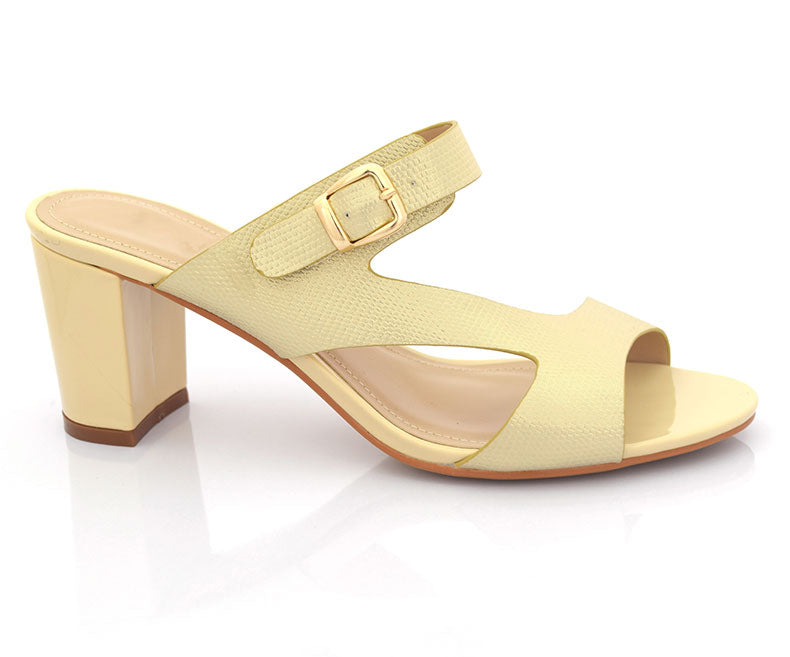 SS-HL-0063-Sandals for Women\Formal\Short Heel-Beige