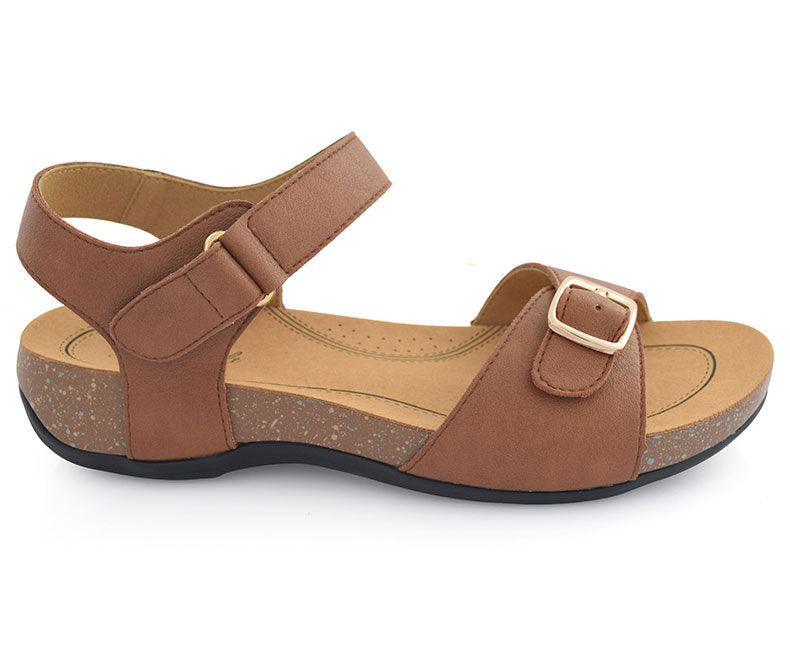 SS-WG-0048-Sandals for women, brown