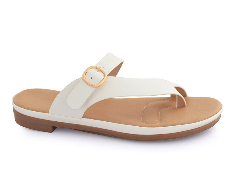 SS-SL-0056-Flats for Women, white