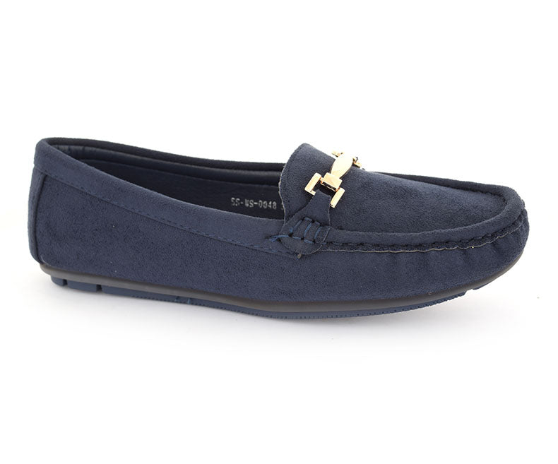 SS-MS-0048-Women's Shoes\Casual\Pumps-Navy