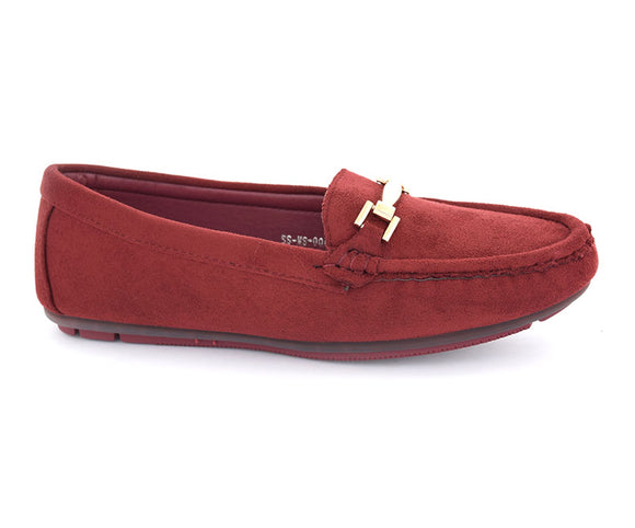 SS-MS-0048-Women's Shoes\Casual\Pumps-Maroon