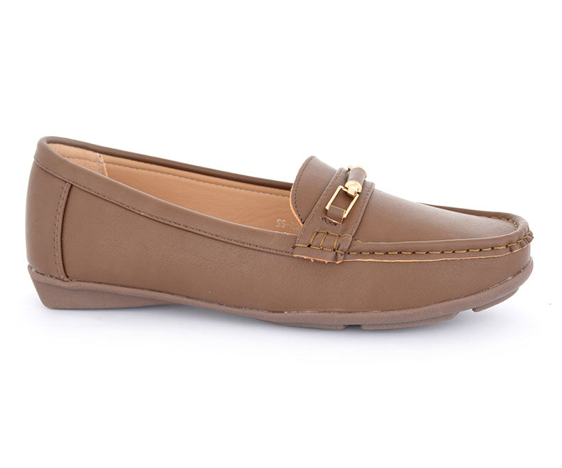 SS-MS-0063-Women's Shoes\Casual\Pumps-Brown