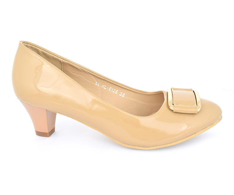 SS-HL-0125-Heels for Women, beige