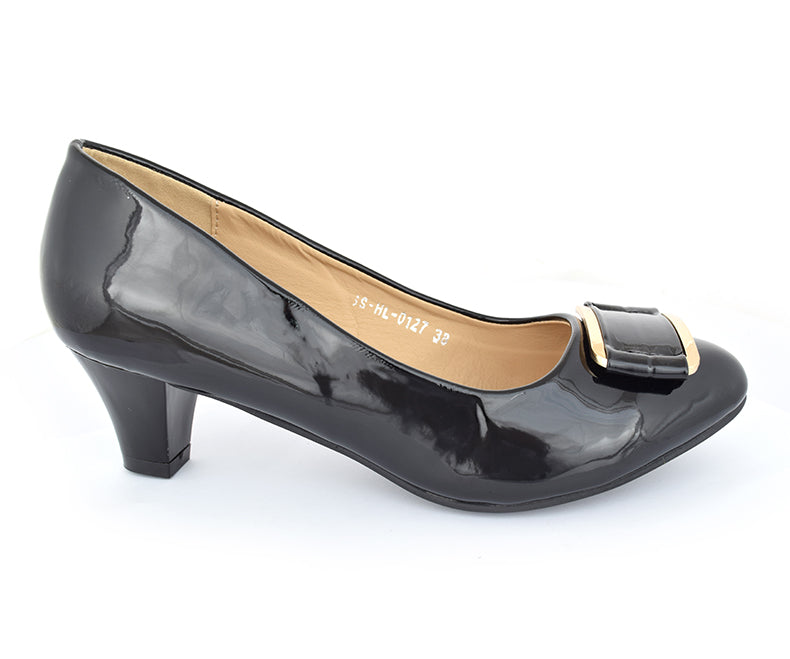 SS-HL-0125-Heels for Women, black