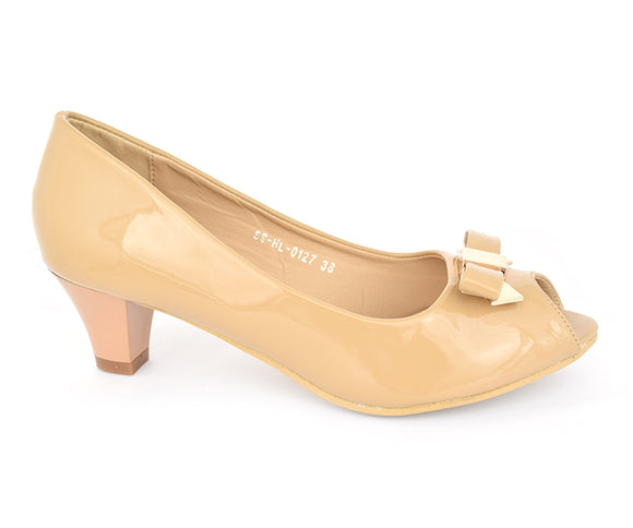 SS-HL-0127-Heels for Women, beige