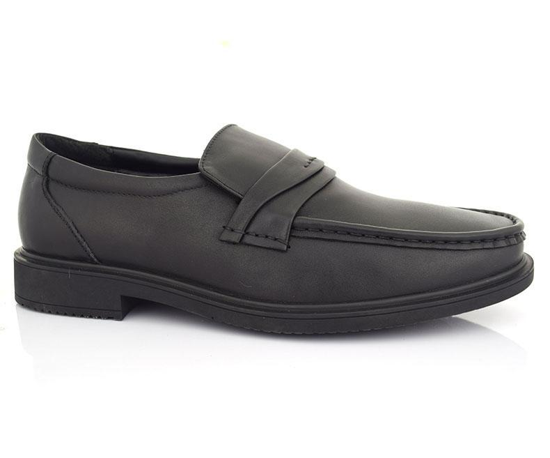 CARTEL- Black Pleasant Semi Formals for Men by Hush Puppies data-zoom=