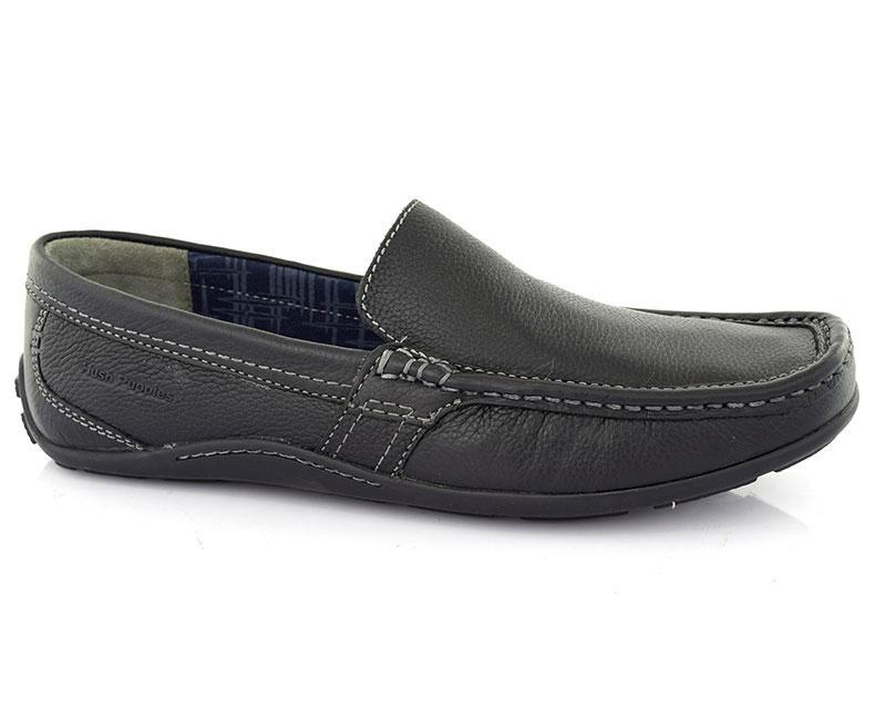 VENSEN COPIA-Moccasins For Men, black