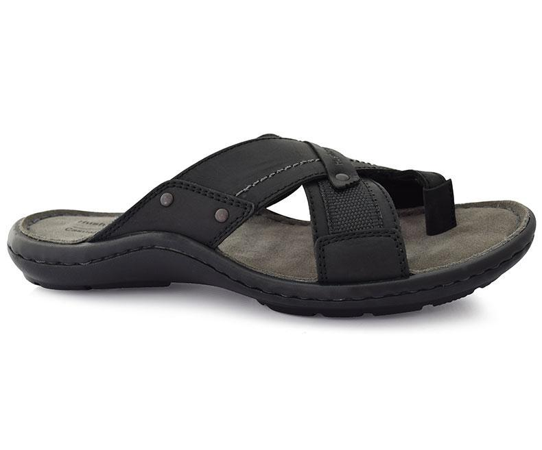 Gerald Pioneer Slippers for Men-Black