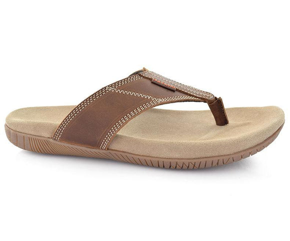 Thong Mutt-Slippers for Men, brown