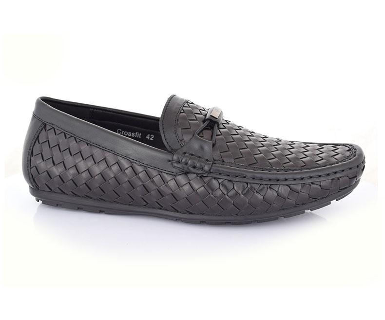 Crossfit - Black Men Moccasins Shoes by Hush Puppies