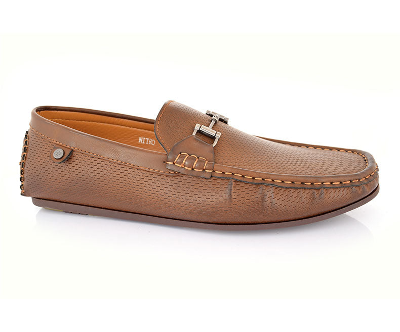 Nitro-Casual Footwear for Men\Moccasins-Brown