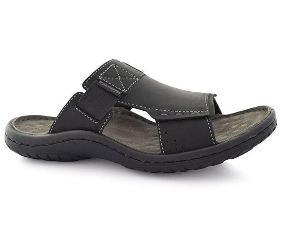 Santo Bernard-Men's Slippers\Casual-Black