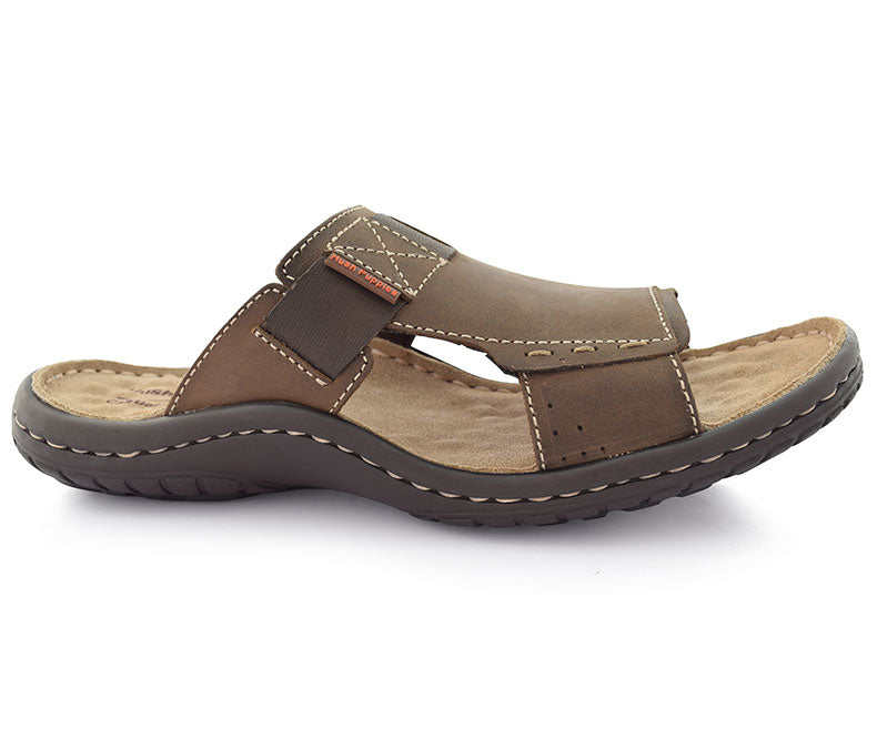 Santo Bernard-Men's Slippers\Casual-Brown