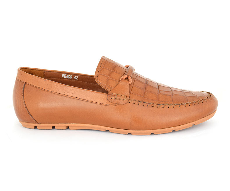 Brago-Casual Footwear for Men-Brown