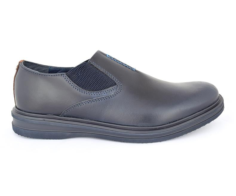 Ronchi Bass-Men's Casual\Semi Formal Shoes-Navy data-zoom=