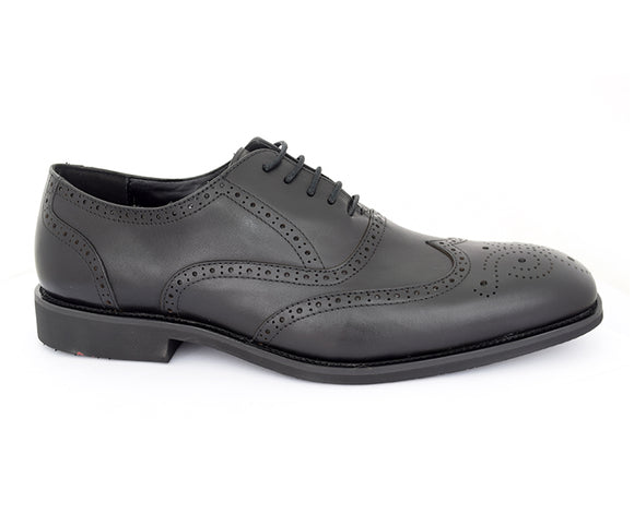 salub-comfort, oxford shoes, black