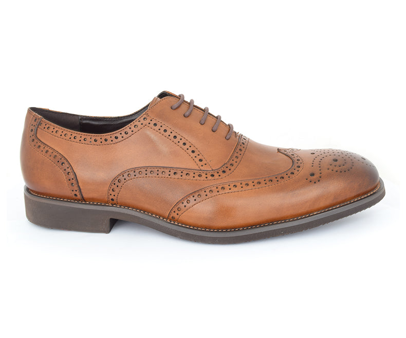 salub-comfort, oxford shoes, brown