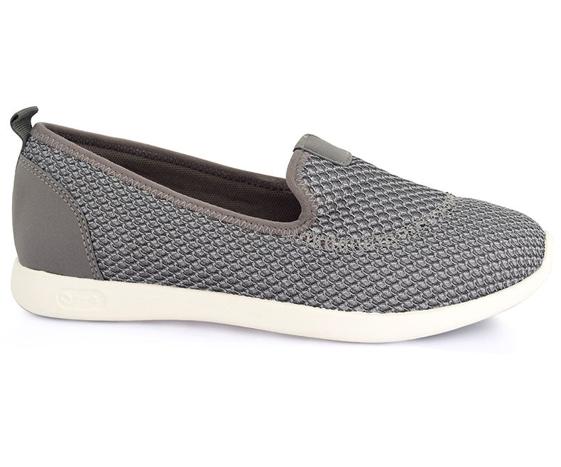 Shihtzu Loafer-Footwear for Women\Pumps-Grey data-zoom=
