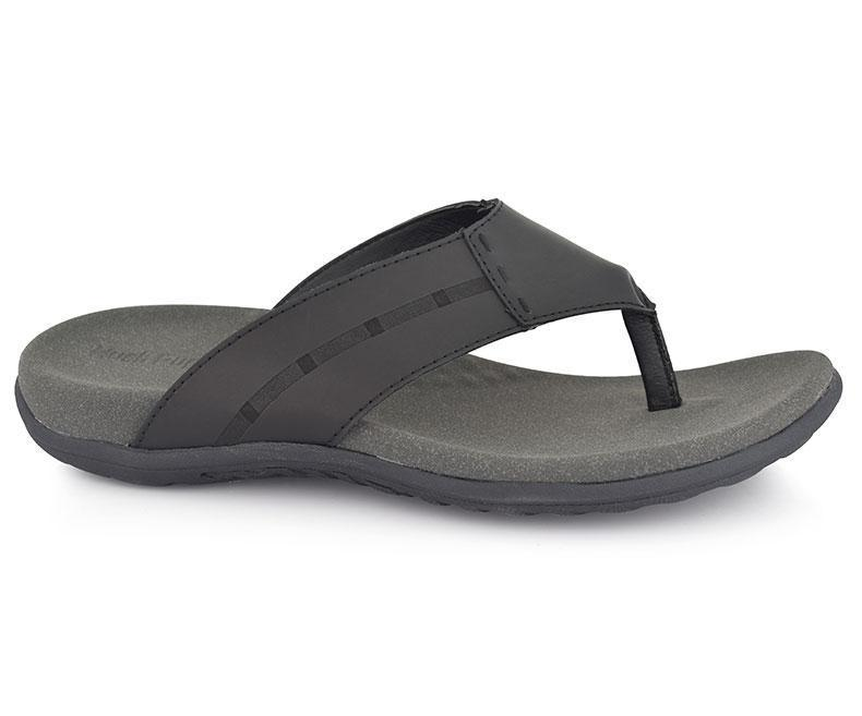 Men's Slippers-Black data-zoom=