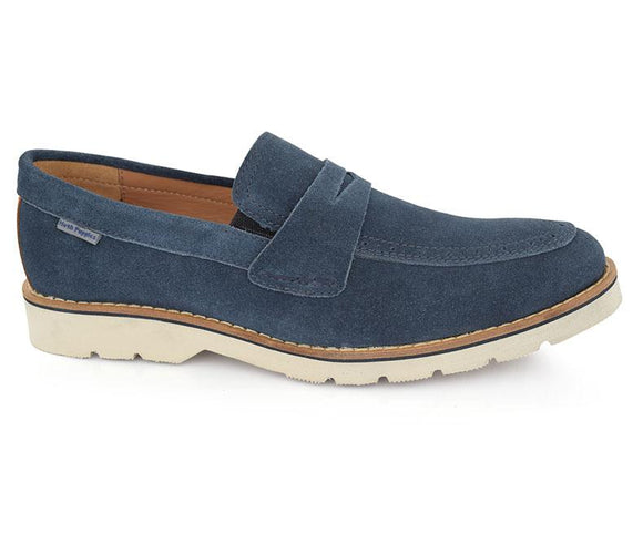 ADOLF RP O4 - Navy Men loafers shoes by Hush Puppies